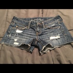 Women's SZ 0 American Eagle jean shorts